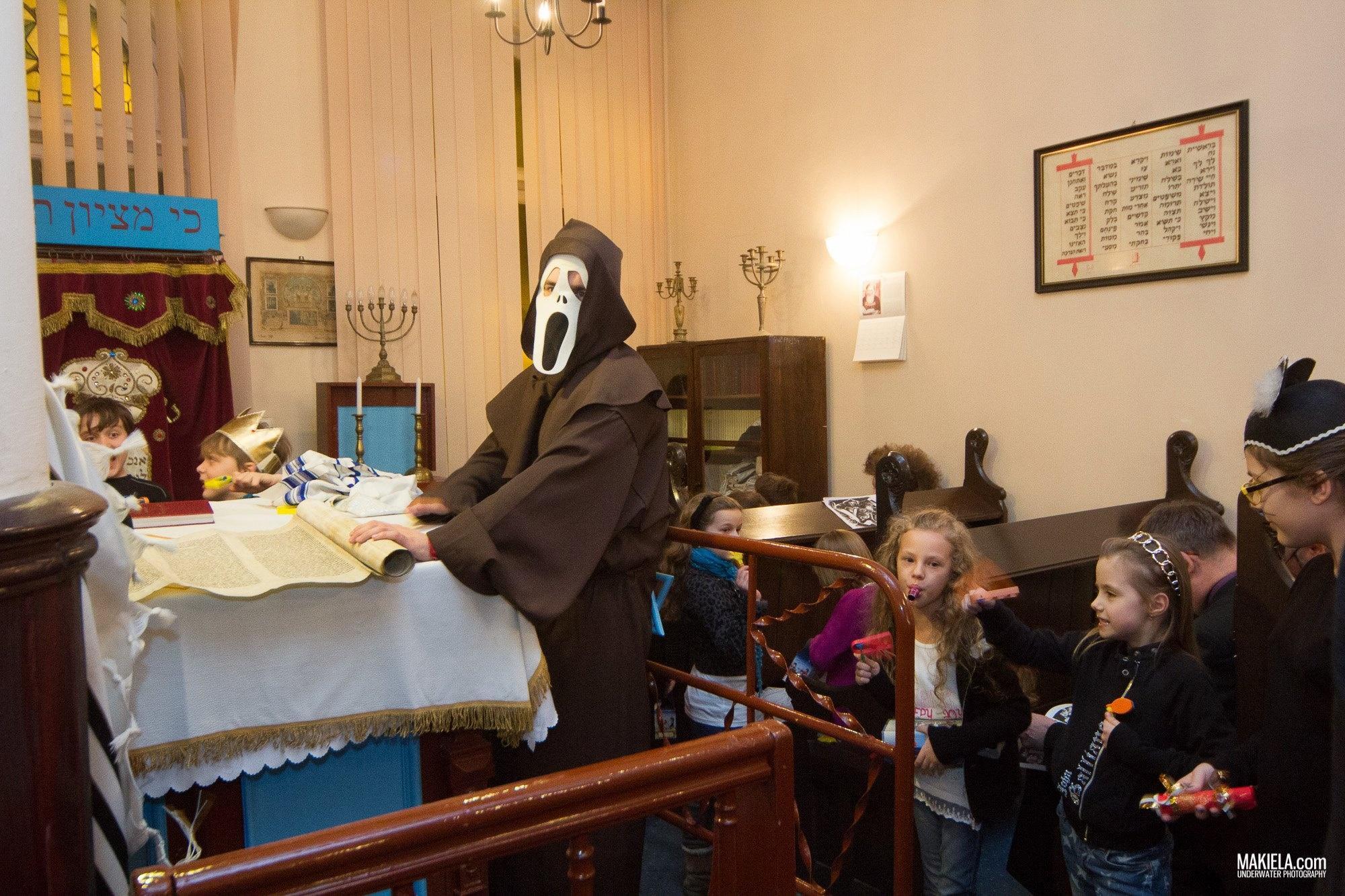 Purim w Synagodze