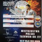 Sukcesy sportowe: II miejsce w Mistrzostwach Polski Tekwon-do, w kategorii: techniki szybkościowe, kadeci (M) 135, chłopcy dla Krystiana Nowaka z klasy IV