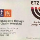 1% podatku na Zespół Szkół Dialogu Kultur Etz Chaim