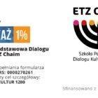Jak przekazać 1% podatku Fundacji Dialogu Kultur Etz Chaim